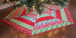 quilted christmas quilted christmas tree skirts happy holidays