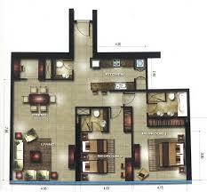 19 marina blue floor plans paramount miami worldcenter