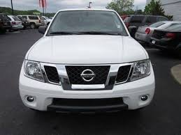 white nissan frontier nissan frontier crew cab pro 4x pickup in south carolina for sale
