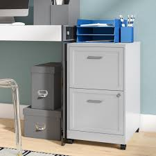 Mobile File Cabinet Zipcode Design Bessie 18 2 Drawer Mobile File Cabinet Reviews