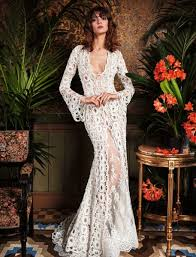 bohemian mermaid wedding dress kleinfeld bridal