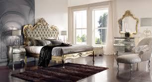 Royal Bed Frame Interior Stylish Gold Bed Frame Design With Floral Decoration