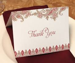 sle wedding programs folded wedding thank you card with gold and floral paisley