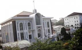 Bio Bandung nuansa mekah di masjid an nuur bio farma bandung tribunnews