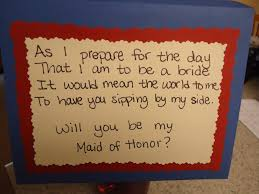 bridesmaid poems to ask come fly with us of honor craft asking with a bottle of wine