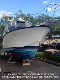 31 rampage u2014 campbell u0027s boat works inc