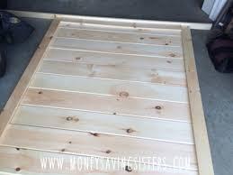 diy poshtots liam headboard bed for 200 money saving sisters