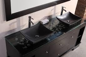 Contemporary Bathroom Vanities by Bathroom Radiant Modern Bathroom Sinks In Black With Horizontal