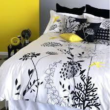 Yellow And White Duvet Black Fl Duvet Yellow White Striped Duvet Cover Yellow Grey And
