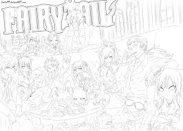 coloring download fairy tail coloring pages anime fairy tail