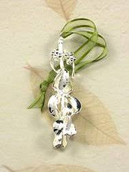 real mistletoe ornament dipped in silver home kitchen