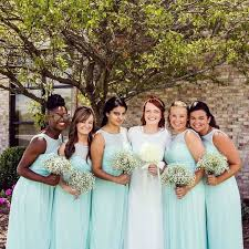 davids bridesmaid dresses david s bridal bridesmaids in illusion sweetheart neckline