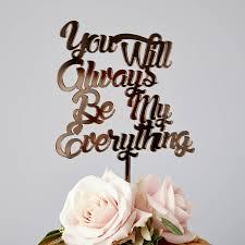 wedding cake song personalised song lyrics wedding cake topper by