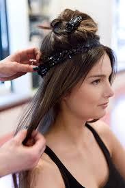 elastic hair band hairstyles vintage hairstyles faux bob