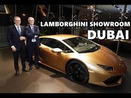 lamborghini car dubai s largest lamborghini showroom in dubai