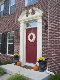 front doors good coloring deep red front door 33 dark red front