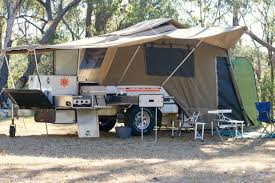 overland camper camper trailer for hire in hazelbrook nsw