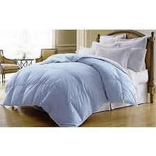 Comforter Thread Count Premium Duck Down Comforter In Light Blue 400 Thread Count