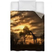 african giraffe walking in sunset bedroom ideas bedroom
