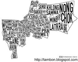 Bangkok Map Map Of Bangkok Featuring District Names U2013 Newley Com