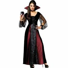 fun world gothic maiden vampiress halloween costume
