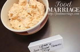 ina garten tomato sun dried tomato dip recipe food marriage