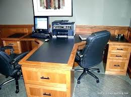 Two Person Home Office Desk Two Person Desk Home Office Home Office Furniture For Two