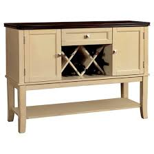 sun u0026 pine vintage wine rack server wood white cherry target