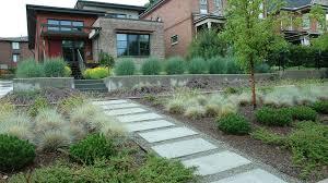 City Backyard Laughlin Design Associates Salt Lake City Ut Utah Landscape