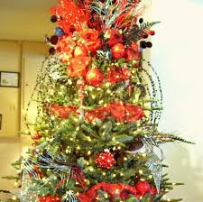christmas decorations and trees country decorating artificial