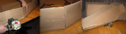 card board box toe pincher coffin