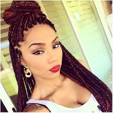 hair plaiting styles for nigerians best black braided hairstyle with puff hair pinterest black