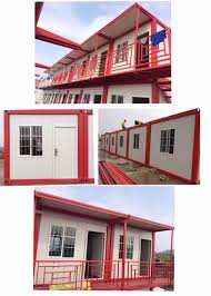 product easy install flat packing prefabricated prefab container