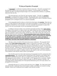 writing a process paper writing an expository paragraph paragraph argument