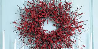 berry wreath wreaths easy wreath ideas