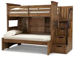 Wood Bed Frame With Shelves Bedroom Astonishing Cool Individual Bedroom Furniture Attractive