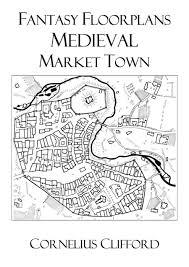 medieval market town fantasy floorplans dreamworlds rpgnow com