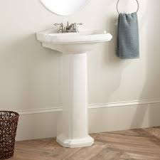 Bathroom Sinks With Pedestals Halden Porcelain Pedestal Sink Bathroom