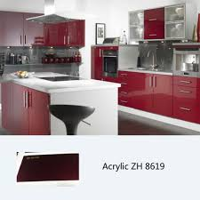 High Kitchen Cabinet by High Gloss Acrylic Kitchen Cabinets To Invigorate In Home