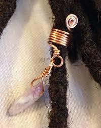 dreadlock accessories amethyst swirl dreadlock bead dread locs accessories dreadlock