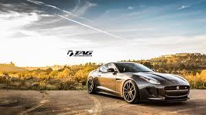 jaguar f type custom jaguar f type r hre bronze p104 tag motorsports