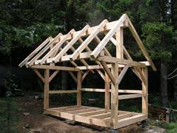 Free Wooden Shed Plans by Gerry Woodworkers Here 4 Cord Wood Shed Plans