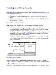 cara kerja solar charge controller doc