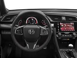 new 2018 honda civic si coupe manual msrp prices nadaguides