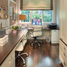 large corner office design for two furniture placement office