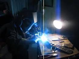 welding the tree ornament 6yo