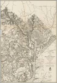 Map Of North Carolina And Virginia by Extract Of Military Map Of N E Virginia Showing Forts And Roads