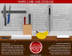 kitchen knives storage knife care and storage infographic dinner series