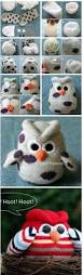 sock owl craft with easy to follow video owl crafts socks and owl