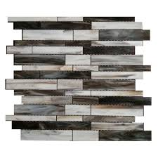 splashback tile matchstix torrent 12 in x 12 in x 3 mm glass